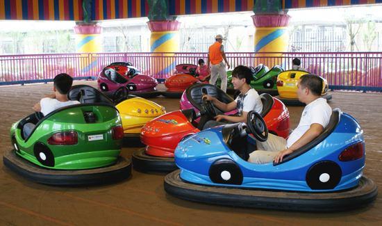 暑假快结束了,游乐场客流新高峰时有哪些需要思考_体能乐园
