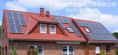 白银太阳能路灯-甘肃高性价光伏发电供销-甘肃绿源节能照明工程