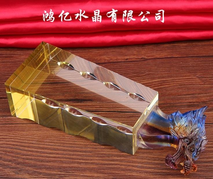 琉璃奖杯  琉璃礼品 琉璃佛像 琉璃摆台 定制琉璃奖杯