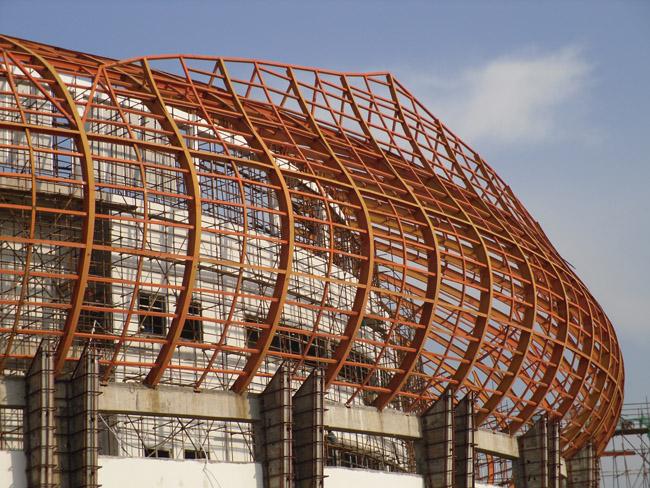 钢结构网架哪里可以买到_钢结构网架加工
