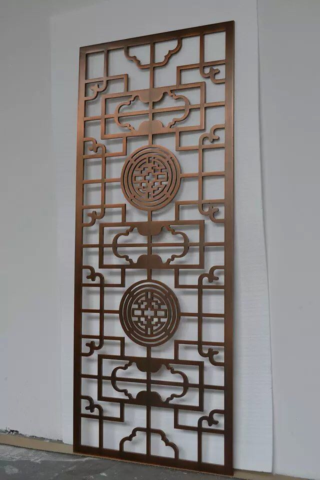 沂水激光切割不锈钢花格-潍坊地区优惠的激光切割