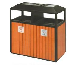 钢木分类垃圾桶0603-13658