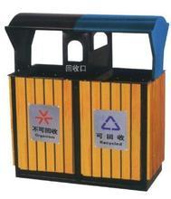 钢木分类垃圾桶1306-13680