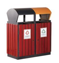 武汉钢木分类垃圾桶供应商推荐|钢木垃圾桶生产厂家