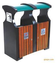 供应价位合理的钢木分类垃圾桶_分类垃圾桶批售
