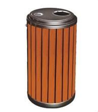 钢木垃圾桶出售 口碑好的钢木垃圾桶供应商,当选武汉鑫源美清洁用品