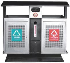 武汉鑫源美清洁用品专业供应湖北分类垃圾桶|湖北钢板垃圾桶提供