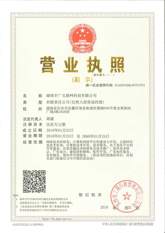 湖南丰广互联网科技有限公司介绍