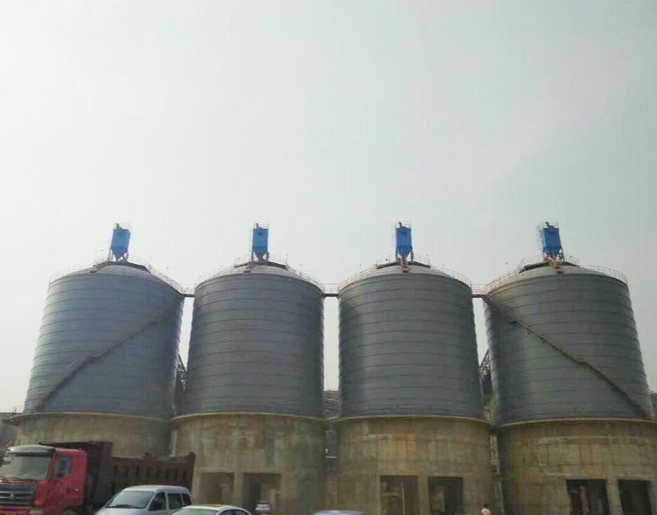 聊城钢板仓,选好的大型钢板仓就到华建仓储装备