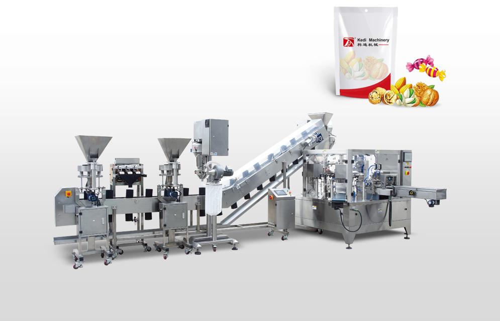 想買耐用的多物料專用包裝機組,就來科迪機械|自動多物料包裝機