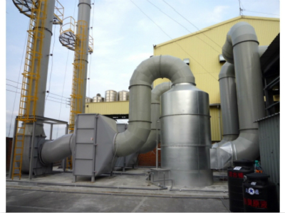 河北漢藍供應rto工業廢氣催化燃燒爐,RTO蓄熱式焚燒爐