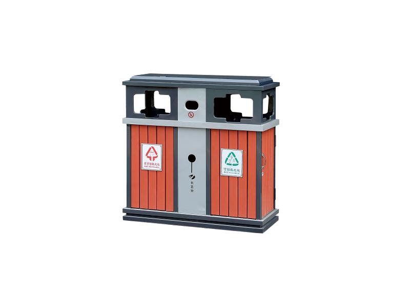 和田钢木果皮箱供应商推荐-不锈钢果皮箱厂家