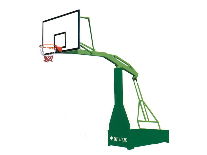 山東納川高品質的地埋籃球架批發