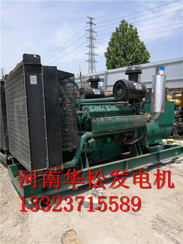 郑州六百千瓦发电机租赁