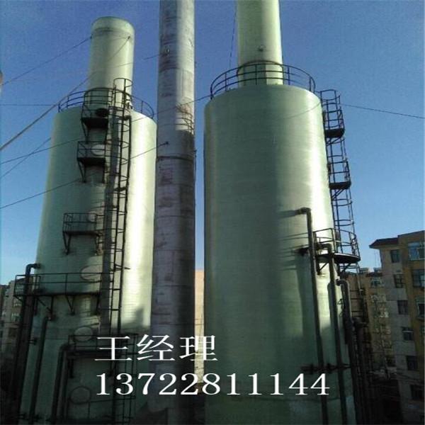 军庄镇砖厂用玻璃钢脱硫塔生产厂家