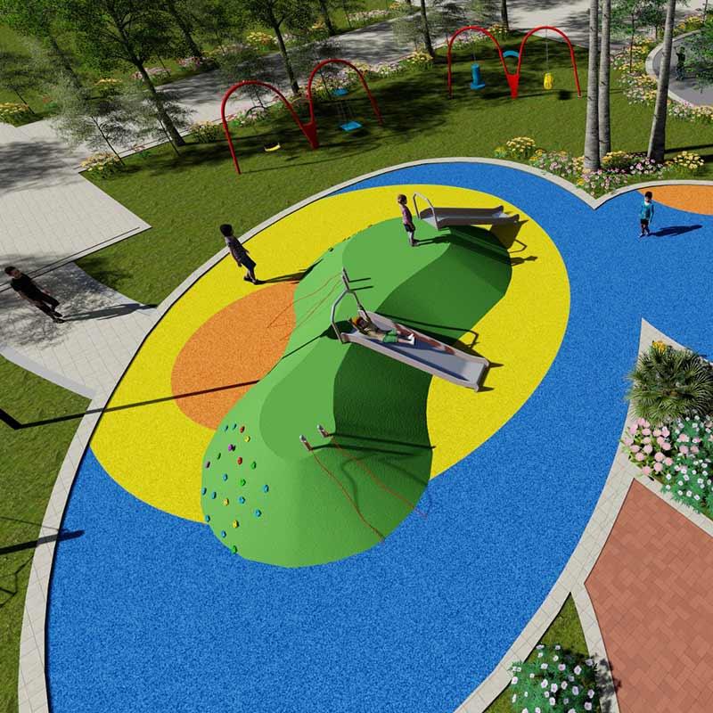 江苏室外儿童游乐设备大型户外无动力儿童乐园设施定制厂家直销