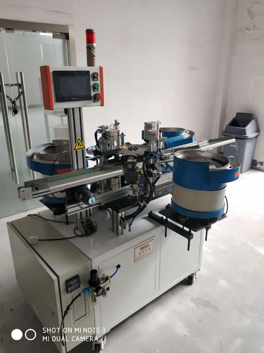 气管接头气管芯套装配机