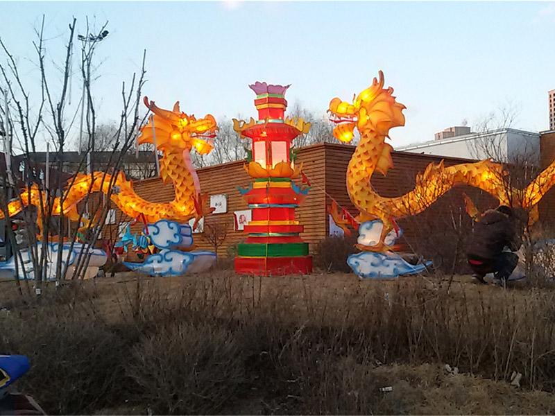 专业供应沈阳花灯-新年花灯就选辽宁省民俗学会花灯文化研究公会