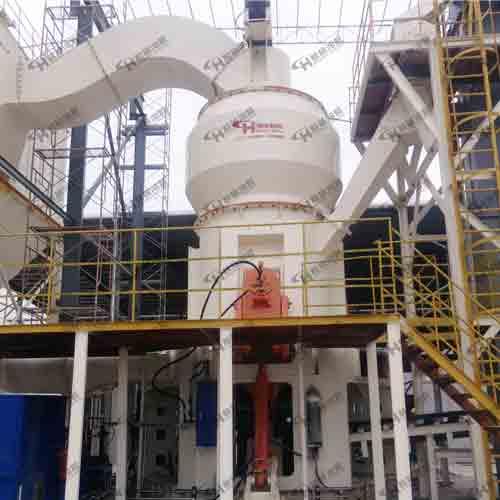鸿程HLM29/4X四辊立磨 碳化硅微粉加工生产立式磨粉机械
