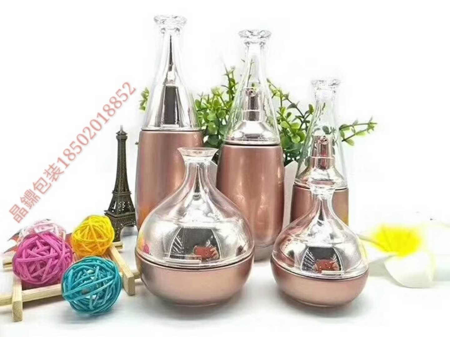 护肤品空瓶厂家,高档化妆品包装瓶,高档化妆品瓶子,精华液瓶