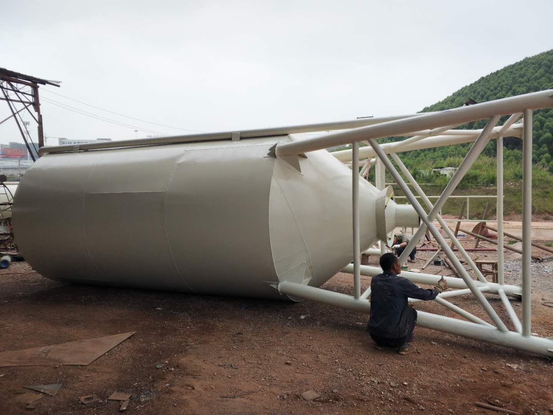 钦州80吨水泥罐-钦州水泥罐专业供应商