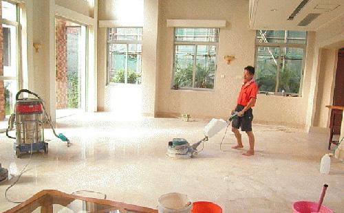 地板保养翻新