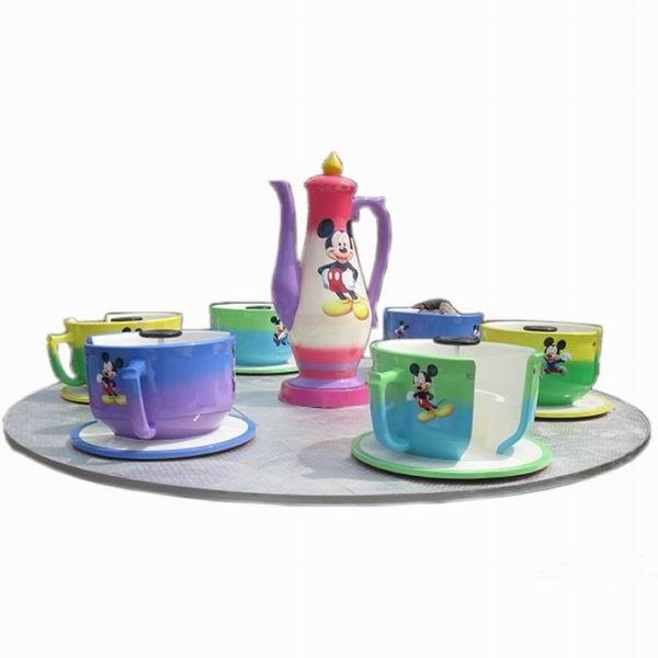 公园游乐设备优质旋转咖啡杯