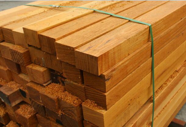 品质南宁菠萝格_优选广西森德园林景观公司,崇左防腐木材批发厂家