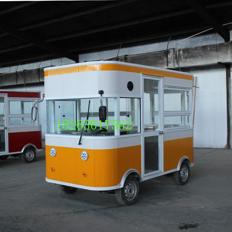 欧准新能源专业供应多功能四轮餐车(包头)多功能四轮餐车定制