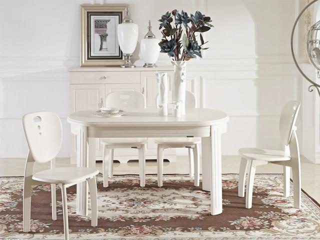 客厅餐桌椅组合现代简约实木餐座批发
