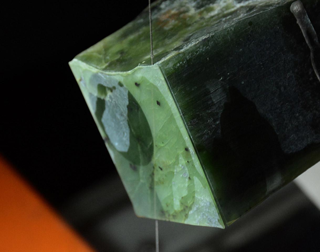 广州 玉石原石毛料线切割机微切机加工