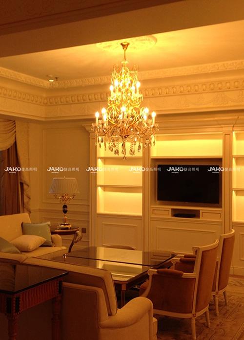 加盟定制装饰艺术灯具 买安全的客房装饰灯具,就选捷高照明