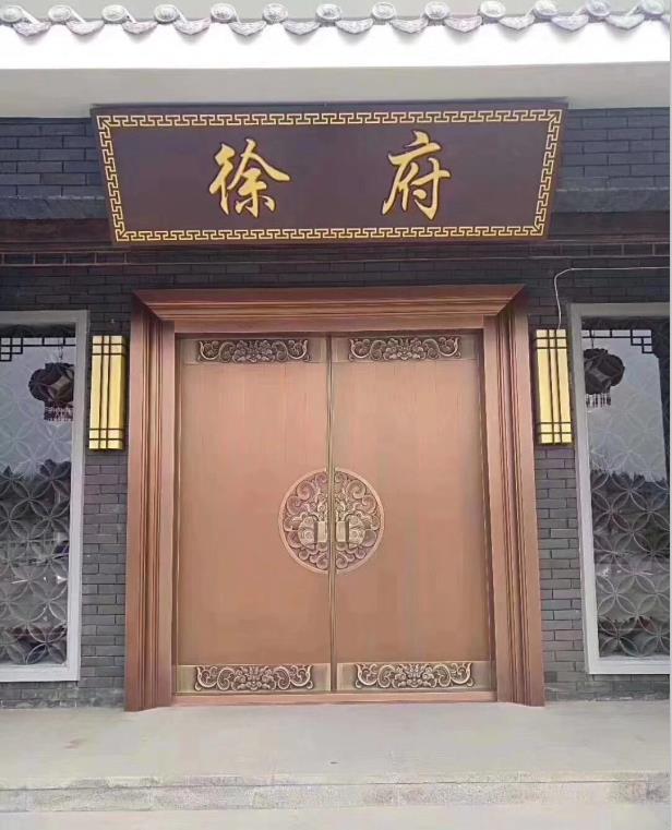 优质的清真寺铜门推荐 银川清真寺铜门哪家好