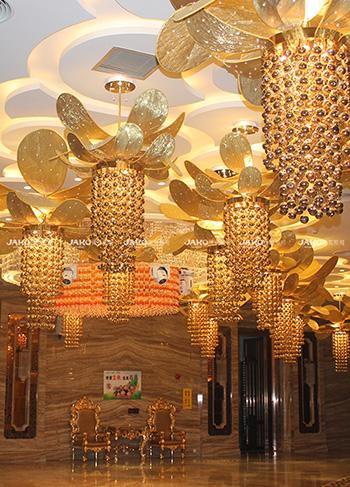 怎样才能买到有品质的售楼处装饰灯具-厂家推荐会所艺术灯具