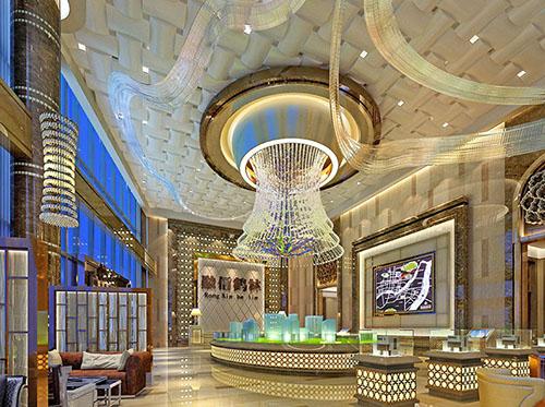 訂購非標酒店工程燈具 大量供應銷量好的售樓處裝飾燈具