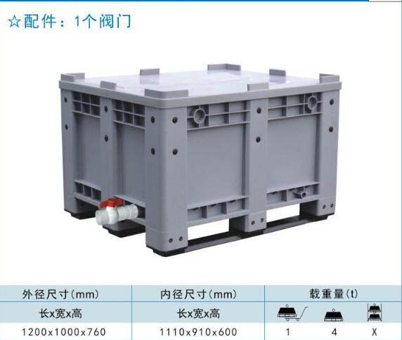 卡板箱生产厂家,承载高!专业塑料卡板箱生产商,口碑好!
