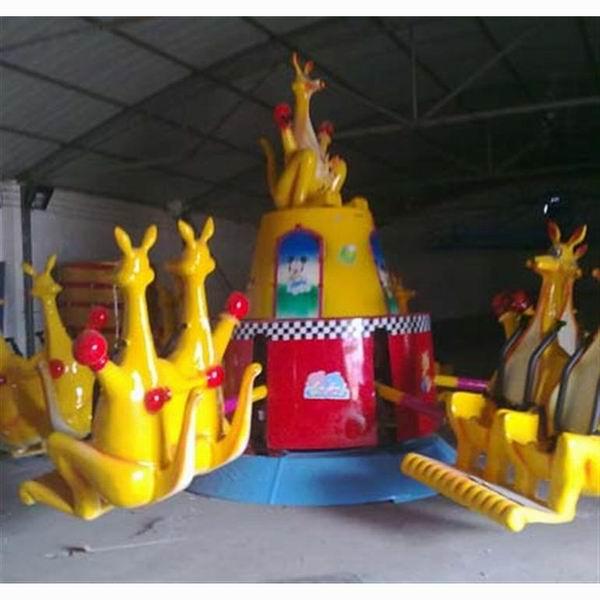 儿童游乐设备袋鼠跳广场游乐设备