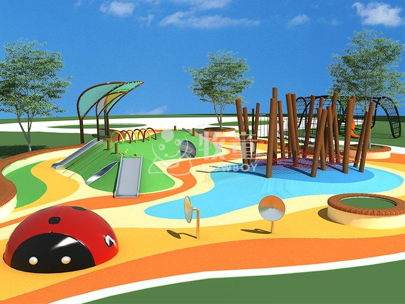 创意儿童游乐场整体方案设计儿童户外拓展系列器材定制图片