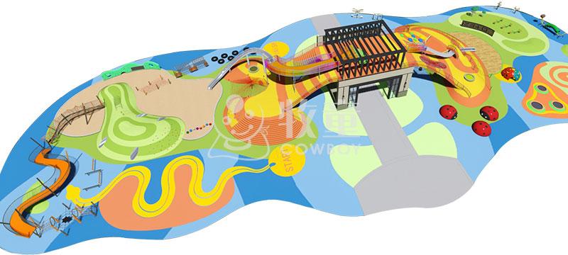 牧童供应儿童拓展乐园设备定制批发大型户外游乐场整体规划设计图片