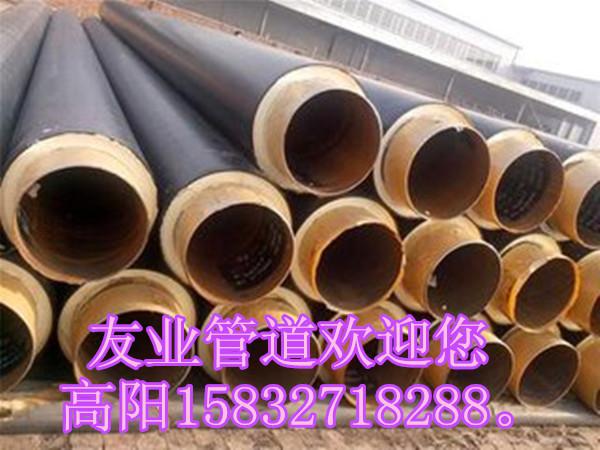 滄州哪里有賣報價合理的黑皮子保溫管道 鋼套鋼直埋保溫鋼管廠家