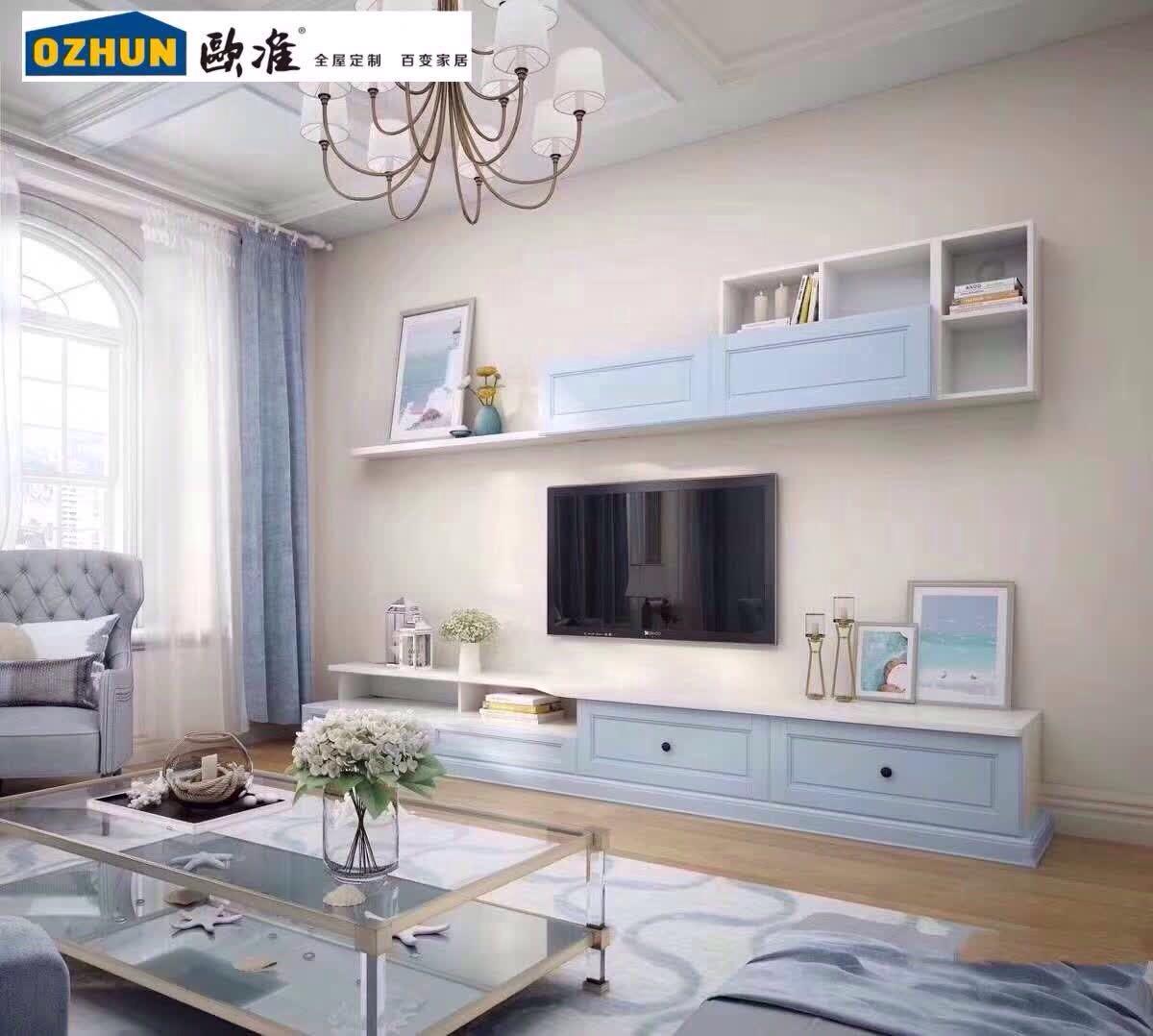 歐準家具提供好的電視柜定制服務/全屋定制流程