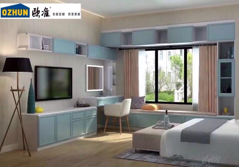 山東知名的電視柜定制公司推薦/全屋定制公司—歐準家具