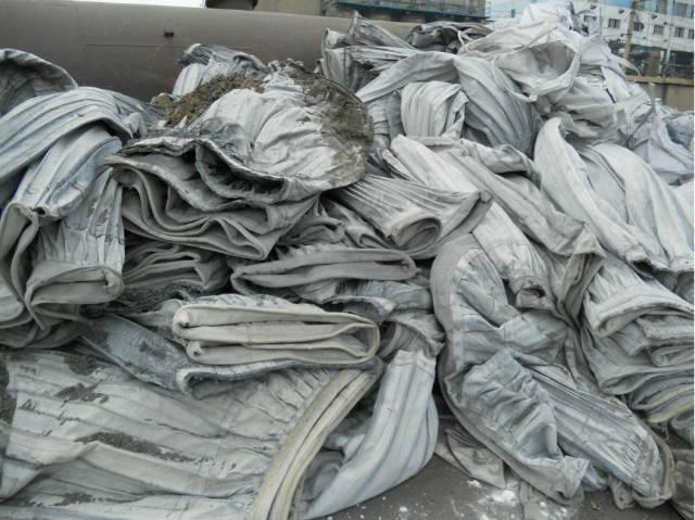 高价回收废旧除尘滤袋