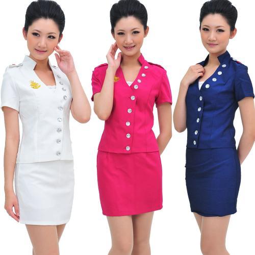 北京实惠的夏季酒店工作服,定做酒店制服定制