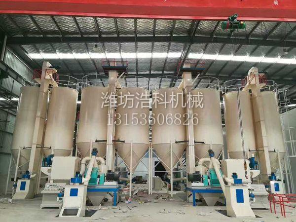 预混砂浆设备、干混砂浆设备、浩科机械
