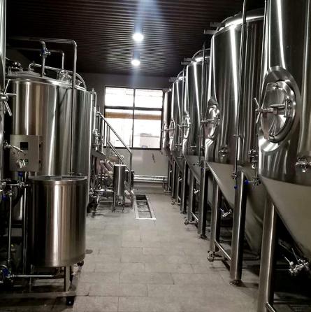 来自德国的工艺惠州金麦源酿酒设备
