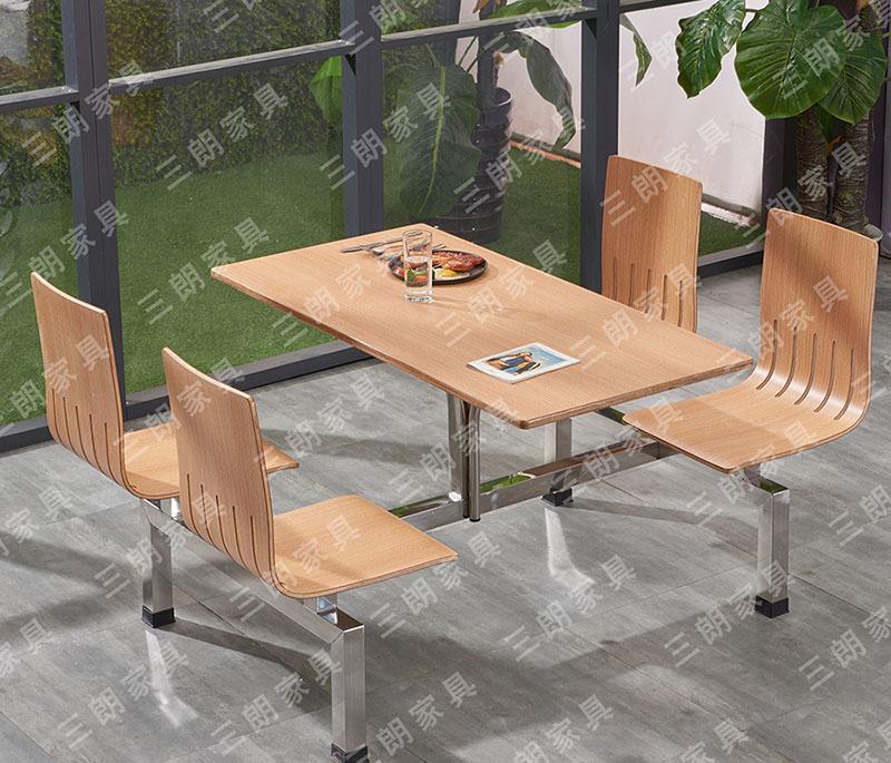 声誉好的连体快餐餐桌椅供应商推荐——学校连体餐桌椅