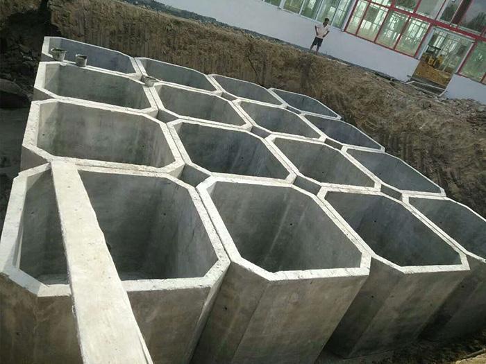 银川地区实惠的整体化粪池-宁夏整体化粪池价格