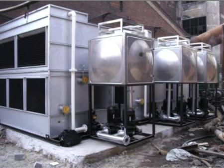 冷却塔公司|厂家福建玻璃钢圆形冷却塔