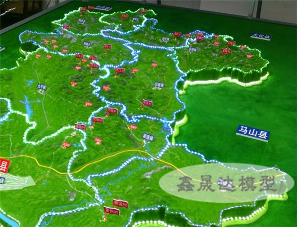河池沙盘规划模型 广西沙盘规划模型公司推荐
